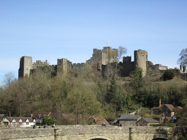 Ludlow Castle Landscape