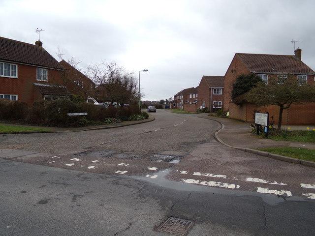 Copperwheat Avenue, Reydon
