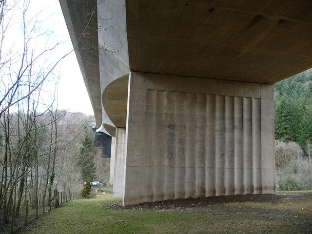 South-west side of Greta Bridge
