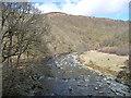 NY2824 : River Greta and Brundholme Wood by Christine Johnstone