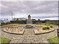 SD4364 : Morecambe and Heysham War Memorial and Memorial Garden by David Dixon