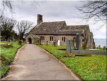 SD4161 : The Church of St Peter with St James and St Andrew, Lower Heysham by David Dixon