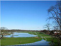 SO8455 : Worcester Racecourse Flooded - Again by Roy Hughes
