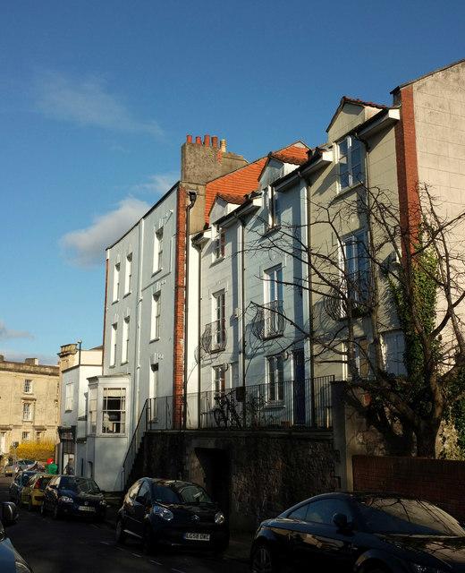 Houses On Portland Street Kingsdown