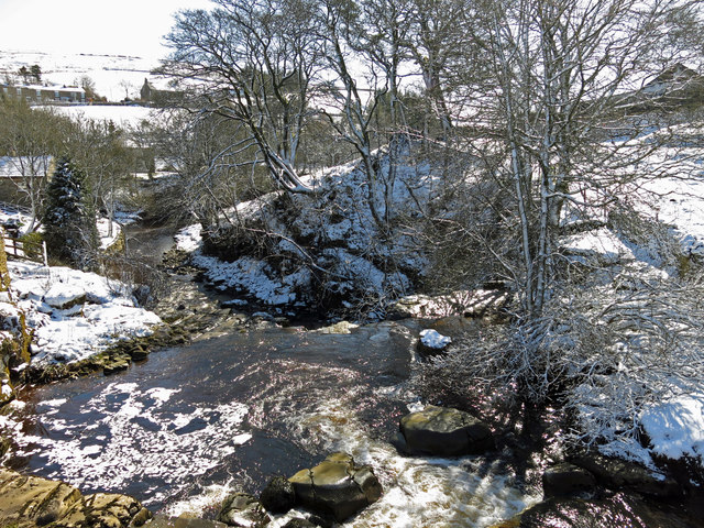 Killhope Burn at Cowshill