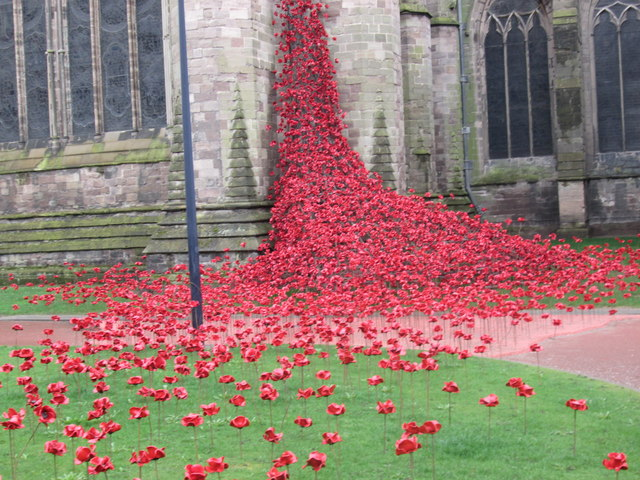Hereford Cathedral (Weeping Window)