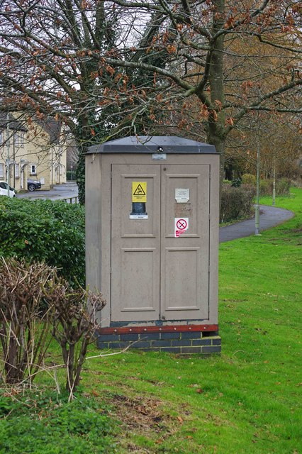 Electricity substation, Gordon Way, Witney, Oxon