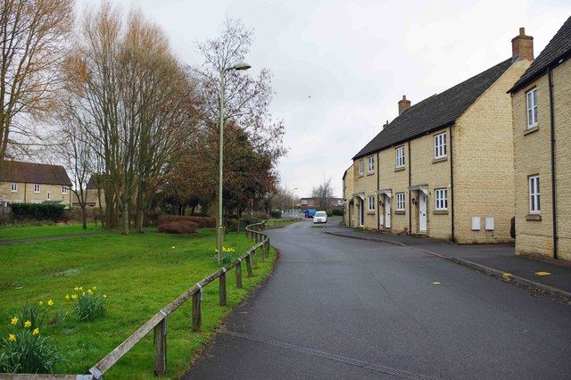 Gordon Way, Witney, Oxon