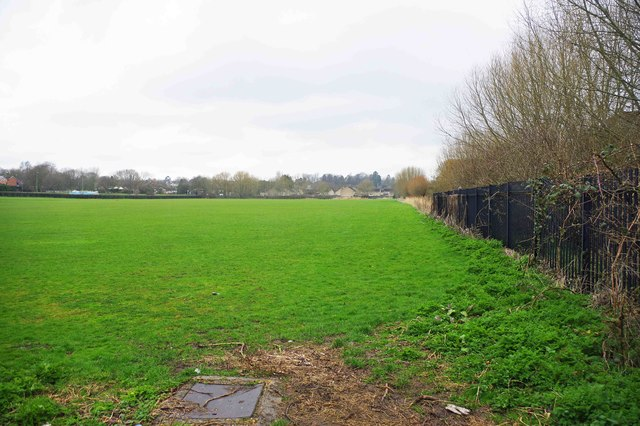 Playing field, Witney, Oxon