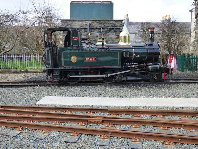 Port Erin: I.O.M. R steam locomotive