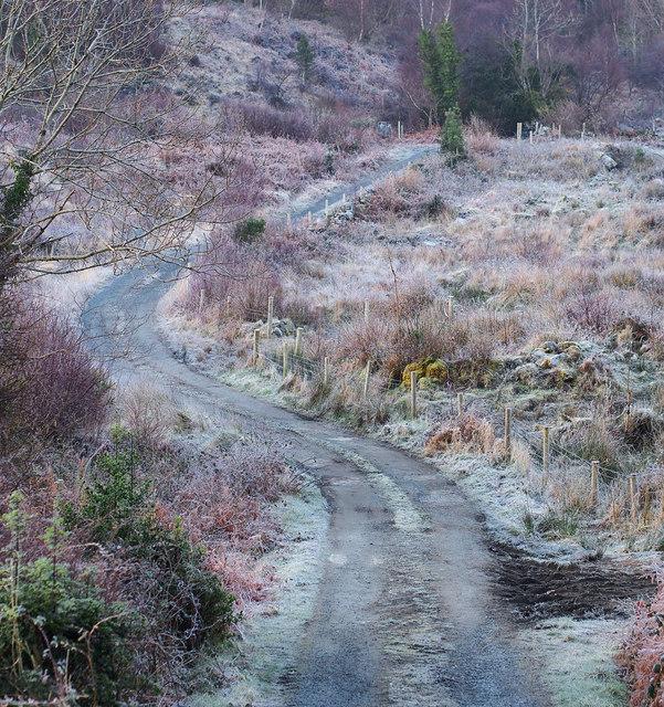 Road near Creeslough