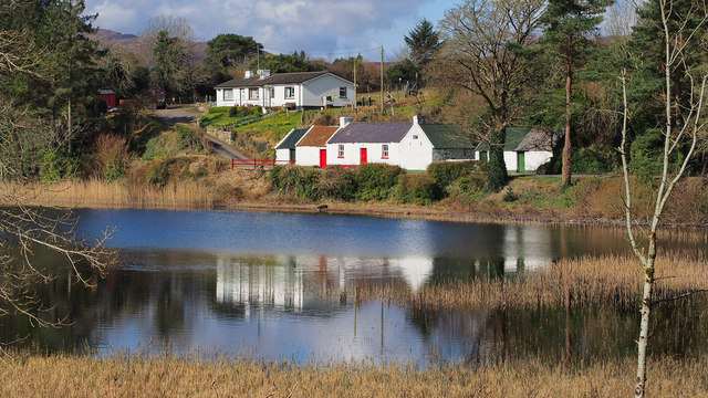 Cottages near Creeslough