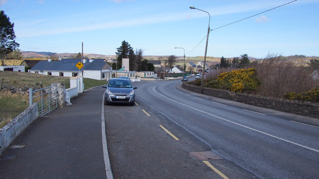 The N56, Creeslough