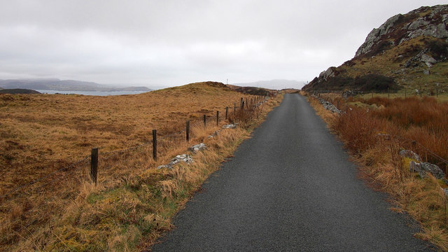 Road near Downings
