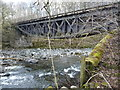 NY2824 : Former railway bridge crossing the River Greta by Christine Johnstone