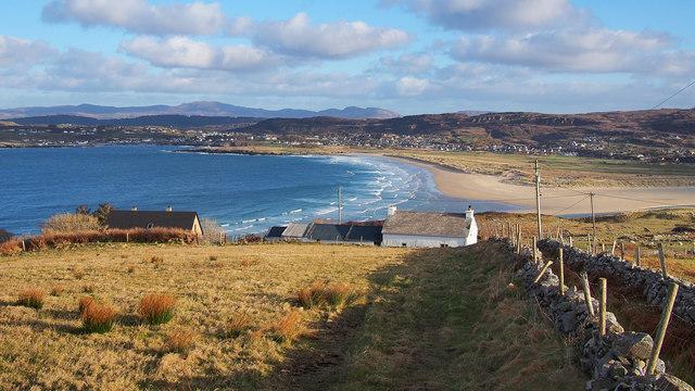 Killahoey Strand from Horn Head
