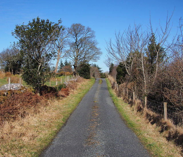 Road near Creeslough