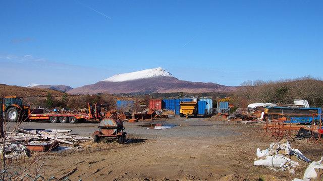 Yard near Creeslough