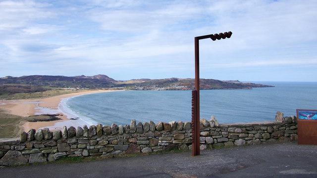 Wild Atlantic Way sign, Ballymastocker Strand