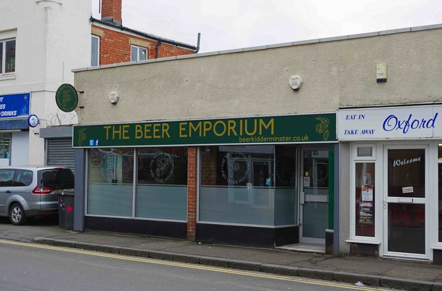 The Beer Emporium and Cider House (1), 48 Oxford Street, Kidderminster, Worcs
