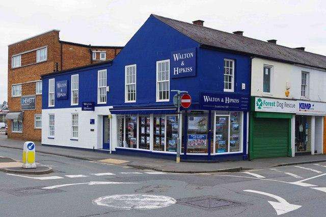 Walton & Hipkiss, 55 Oxford Street, Kidderminster, Worcs