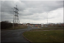 SD4260 : Off Shore Wind Turbine Substation,  Heysham by Ian S