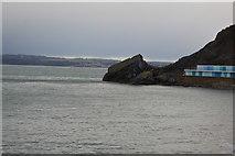 SX9262 : Headland, Meadfoot Beach by N Chadwick