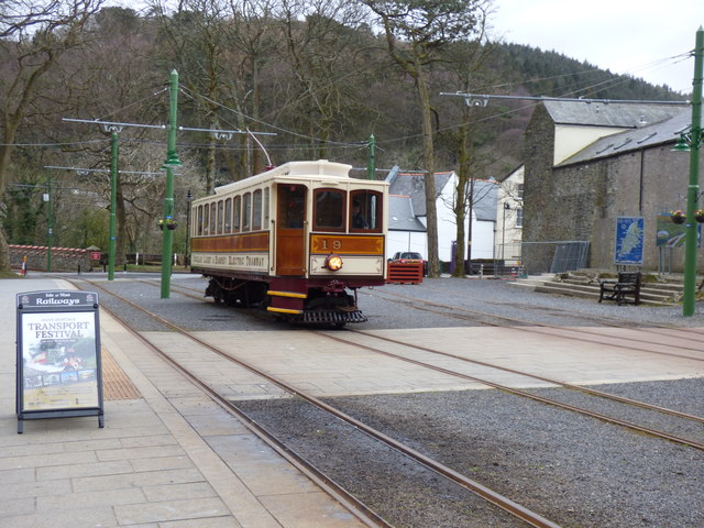 Laxey Station MER:  car No. 19