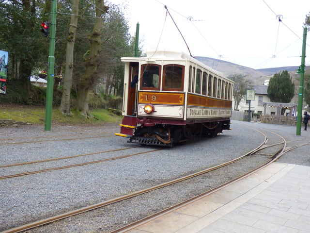 Laxey MER station: Car no.19