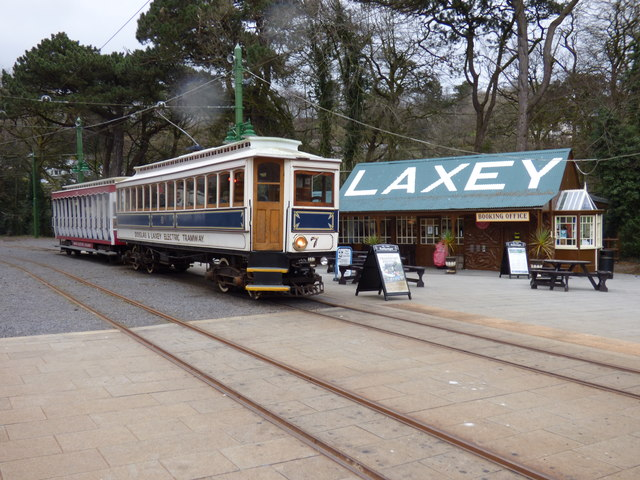 Car No 7 at Laxey