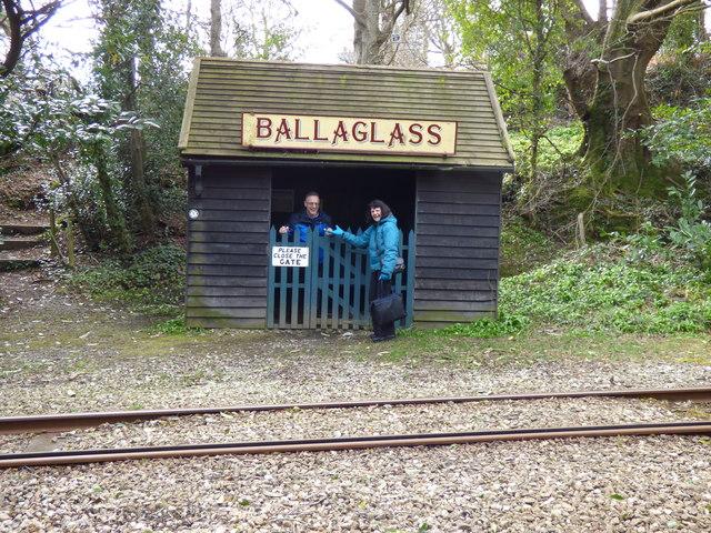 Ballaglass tram stop