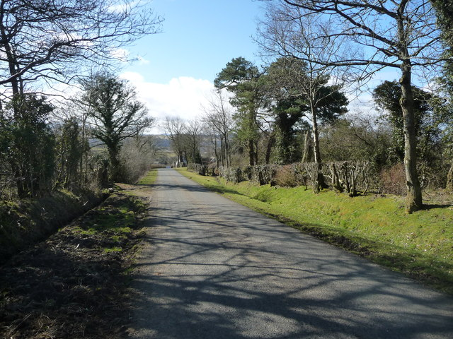 The road from Bothel to Sunderland