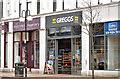 J3374 : Greggs, Royal Avenue, Belfast (April 2018) by Albert Bridge