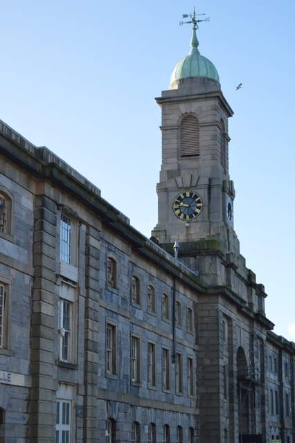 Royal William Victualling Yard - Melville building, Clock Tower