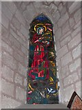 NY5563 : St. Mary Magdalene, Lanercost: stained glass window (d) by Basher Eyre