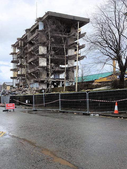 Irwell Street, Demolition of Former Police HQ
