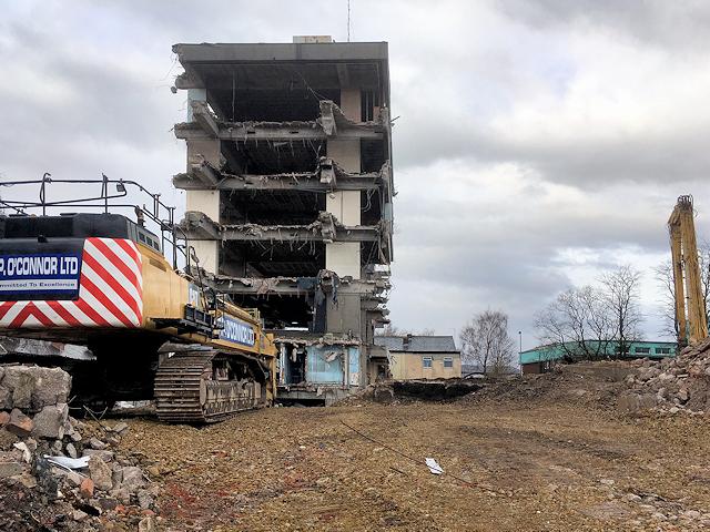 Demolition of Former Police HQ