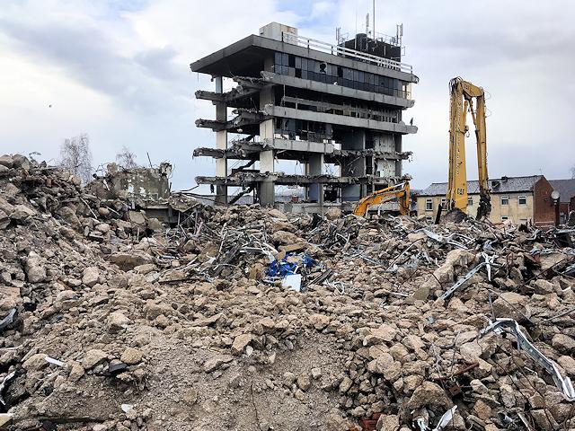 Former Police Headquarters Demolition Site