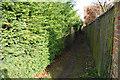 TM2953 : Footpath leaving High Street by Bill Boaden