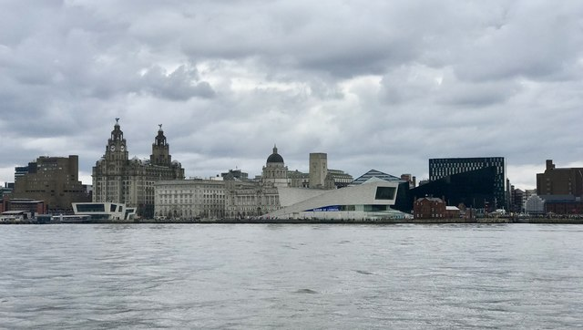 Liverpool waterfront from the Mersey