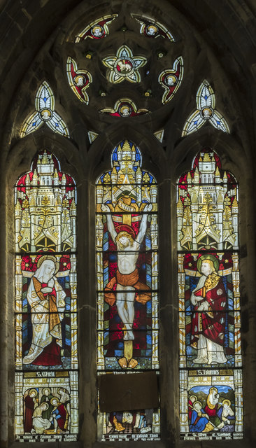 East window, St Peter's church, Clayworth