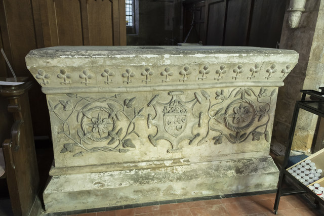 Tomb chest, St Peter's church, Clayworth
