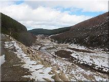 NJ3133 : Glen Fiddich and the course of the River Fiddich by Alan Hodgson