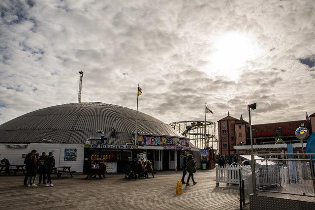 Palace Pier amusement dome, Brighton