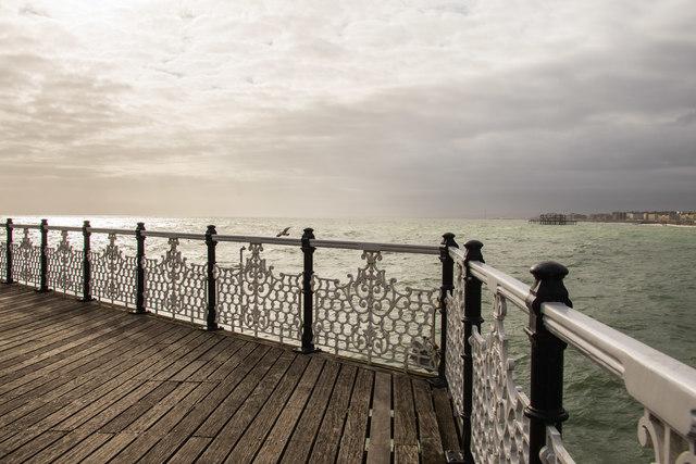 Ornamental railings on Palace Pier, Brighton