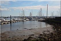 SZ3394 : Lymington : Lymington Harbour by Lewis Clarke