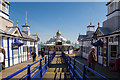TV6198 : Shops and kiosks on Eastbourne Pier by Oliver Mills