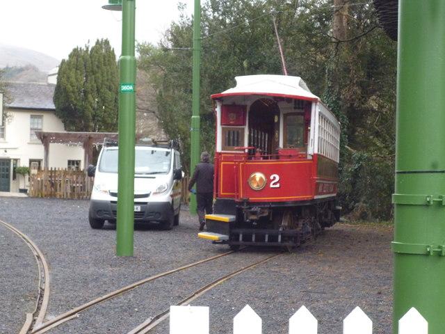 Laxey station siding: M.E.R No 2