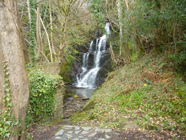 Laxey Waterfall