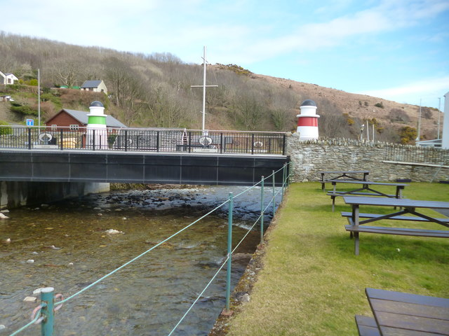 New Bridge at Old Laxey